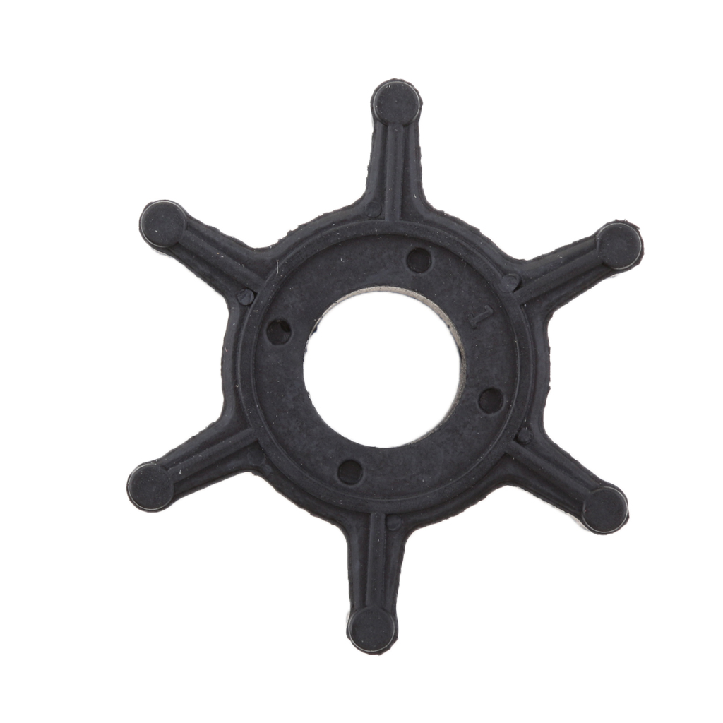 <font><b>Outboard</b></font> <font><b>Motor</b></font> Water Pump Impeller Rubber for Yamaha F2.5A/F2.5B/3A/Malta <font><b>2.5hp</b></font> 3hp Boat Parts Accessories Black image