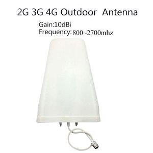 Image 5 - 2G 3G 4G GSM Repeater 900 1800 2100 Tri Band GSM 900 DCS 1800 WCDMA 2100 handy Signal Booster Celular Verstärker 4G Antenne