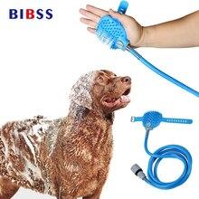 Haustier Katze Hund Reinigung Bad Dusche Kopf Gerät Multi-funktionale Kamm Wasser Sprayer Pinsel Pflege Massage Für Große Hunde katze Kamm