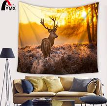 Creative Animal Design Printing Tapestry Fashion Rectangle Colorful Cute Woven Polyester Wall Hanging For Room Decor