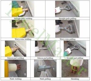 Image 2 - Zgrzewarka punktowa karoseria naprawy ściągacz wgnieceń garażu karoserii narzędzia do naprawy 1300A przenośny maszyna do zgrzewania punktowego