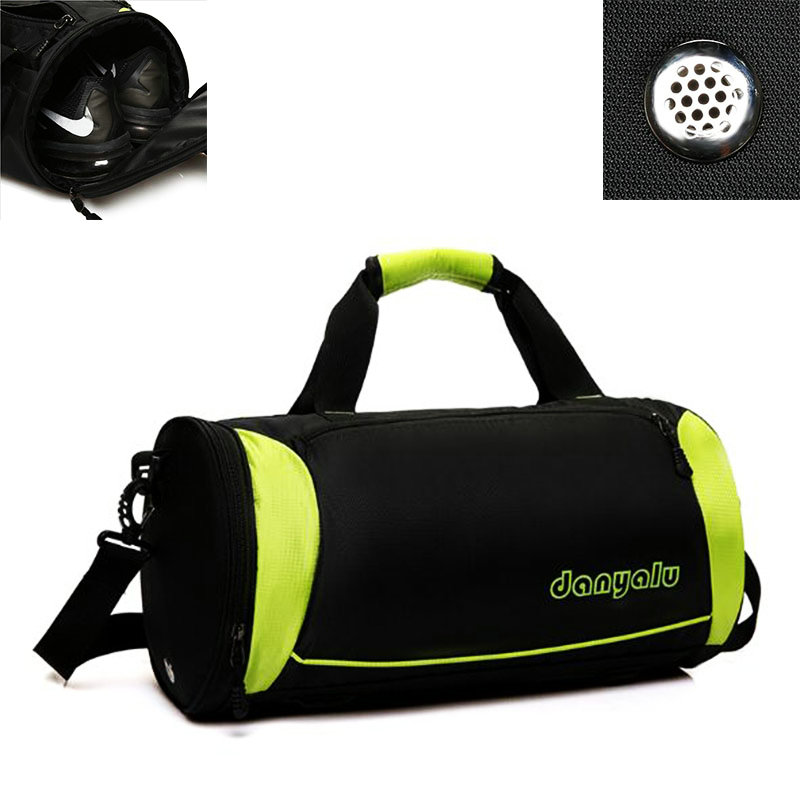 Super light nylon gym single shoulder bag women men fitness bags large capacity tour cam ...