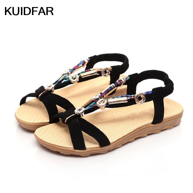 Women Sandals Fashion Summer Women Shoes Woman Gladiator Sandals Summer Ladies Shoes Flats Sandalias Mujer Ladies Sandals