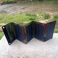 PowerGreen Мини Солнечной Энергии Банк, 7 Вт Складной Панели Солнечных Батарей Зарядное Устройство, Сумка солнечной Энергии Батареи Резервного Копирования для Езды На Велосипеде для Кемпинга