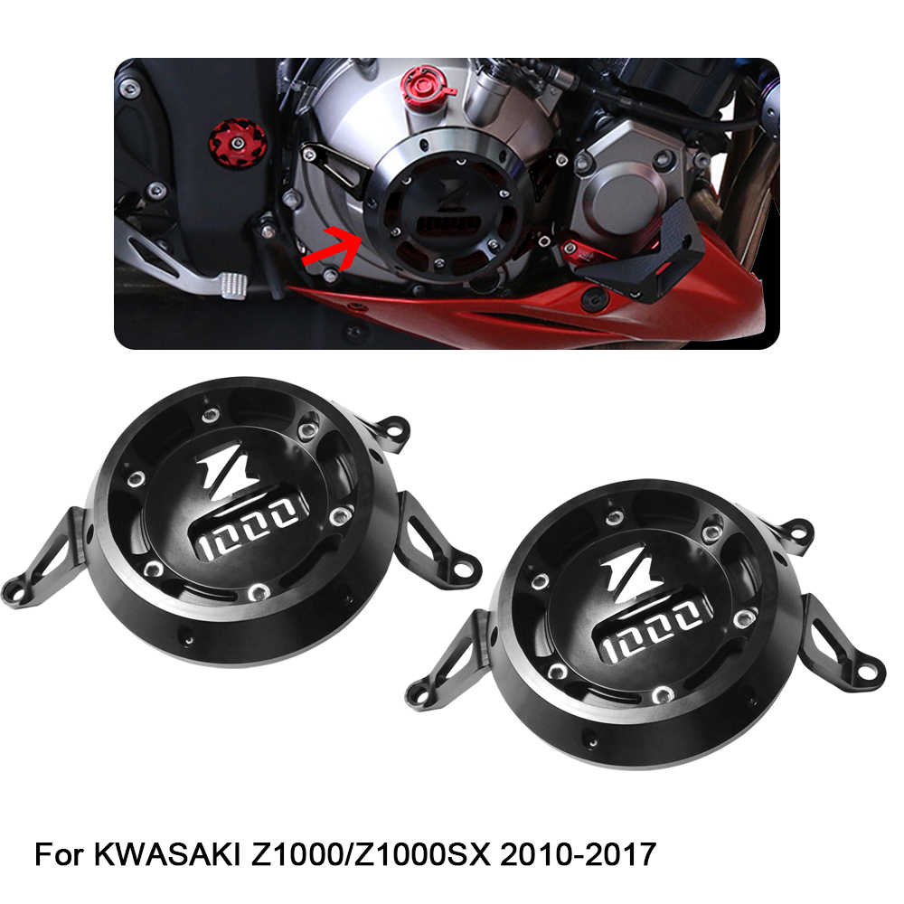 Motorcycle Engine Cover Guard Protection Left Right Side For Kawasaki Z1000 Z1000SX 2010 2011 2012 2013 2014 2015 2016 2017