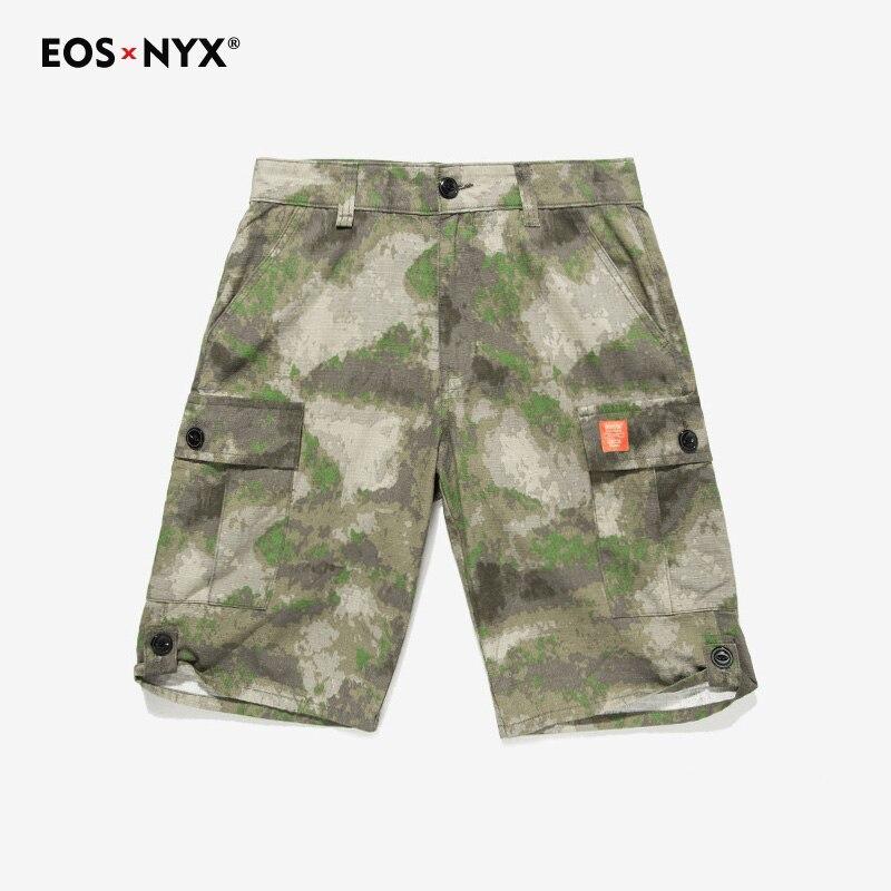 Eosnyx Лето Для Мужчин Армия Камуфляж Cargo Шорты для женщин Повседневное Карманный Выстрел