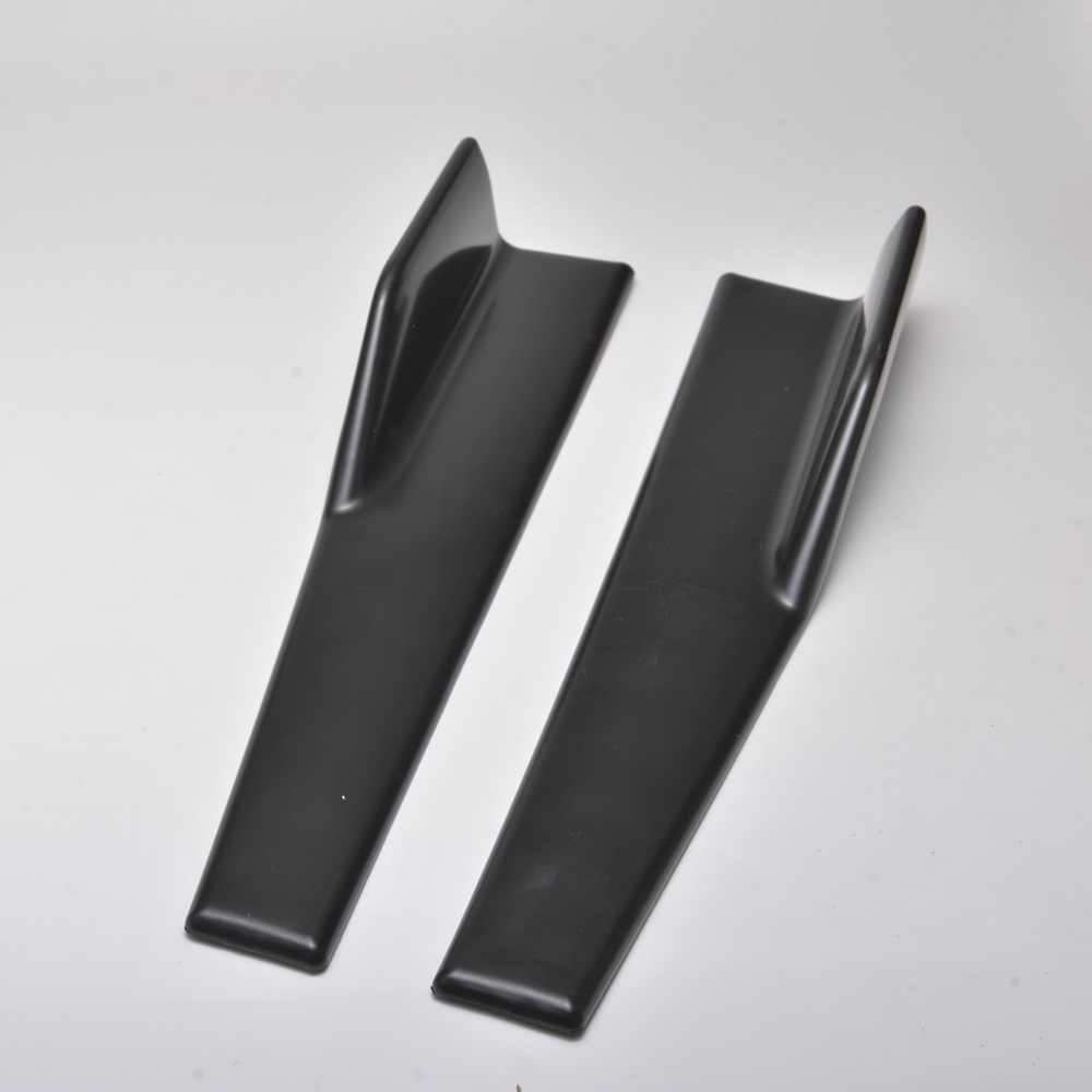 2 pezzi gonne laterali per auto strake rocker splitter winglet anti-graffio