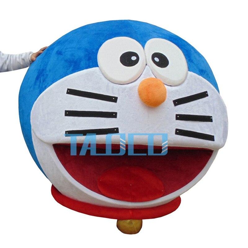 Doraemon Roboter Katze Nette Charakter Anime Manga Maskottchen Kostum Erwachsene Anzug Cartoon In