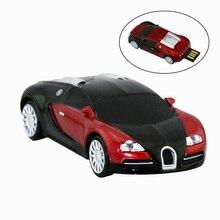 Новое поступление металлический Прохладный родстер Автомобильная usb-флэшка, 8G спортивный автомобиль USB 2,0 32GB usb-флэш-накопитель Stick Cle Memory Stick для хранения
