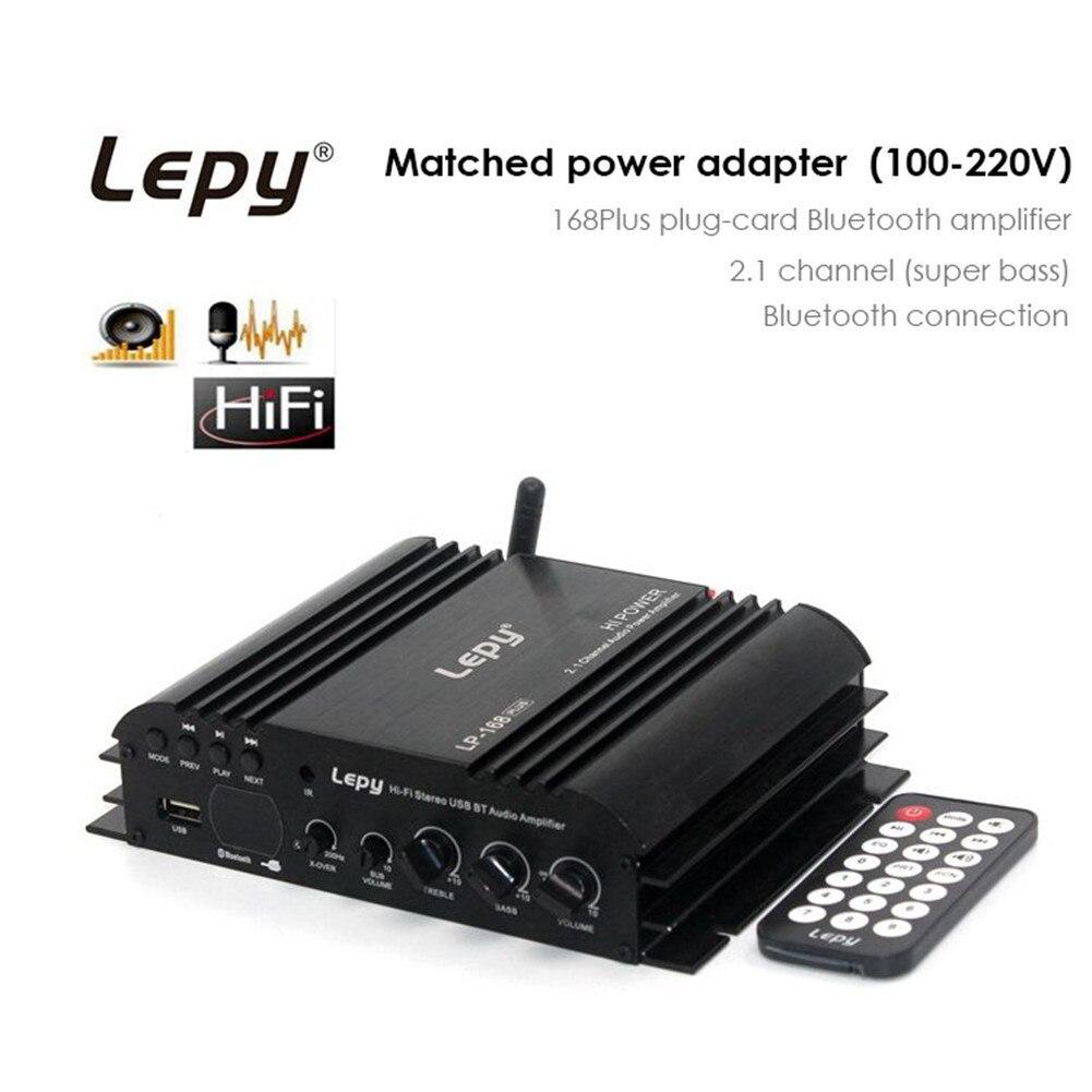 LP 168 Plus HiFi Stereo Digital Amplified Portable Wireless 2.1CH ...