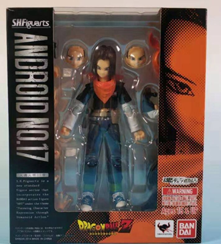 Model-Toy Action-Figure Dragon-Ball-Z Good-Qualtity Class-E-Adventurer Android 17 Super