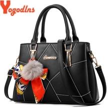 187de706ed5cde Yogodlns Women's bag 2019 Spring New Hair Ball Handbag Scarf Bucket Bath Bag  Mother Bag Women