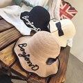 Mulheres estilo do verão bowknot chapéu de sol praia pescador chapéus anti-uv proteção do sol chapéu de balde de pesca sombreiro cap para a menina ao ar livre