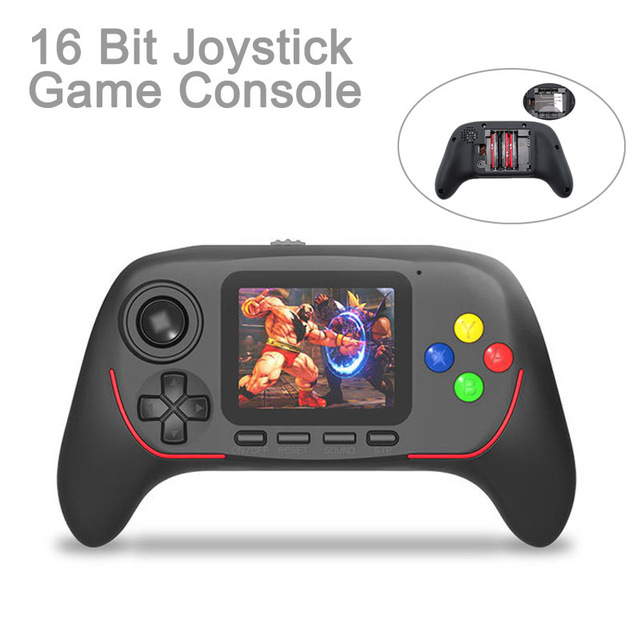 Portable Handheld Game Console Built in Classic Games 16 Bit HD Joystick Game Console Bluetooth 2.4G Online Combat For Children