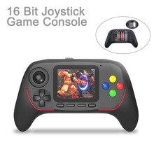 Taşınabilir elde kullanılır oyun konsolu dahili klasik oyunları 16 Bit HD Joystick oyun konsolu Bluetooth 2.4G Online savaş çocuklar için