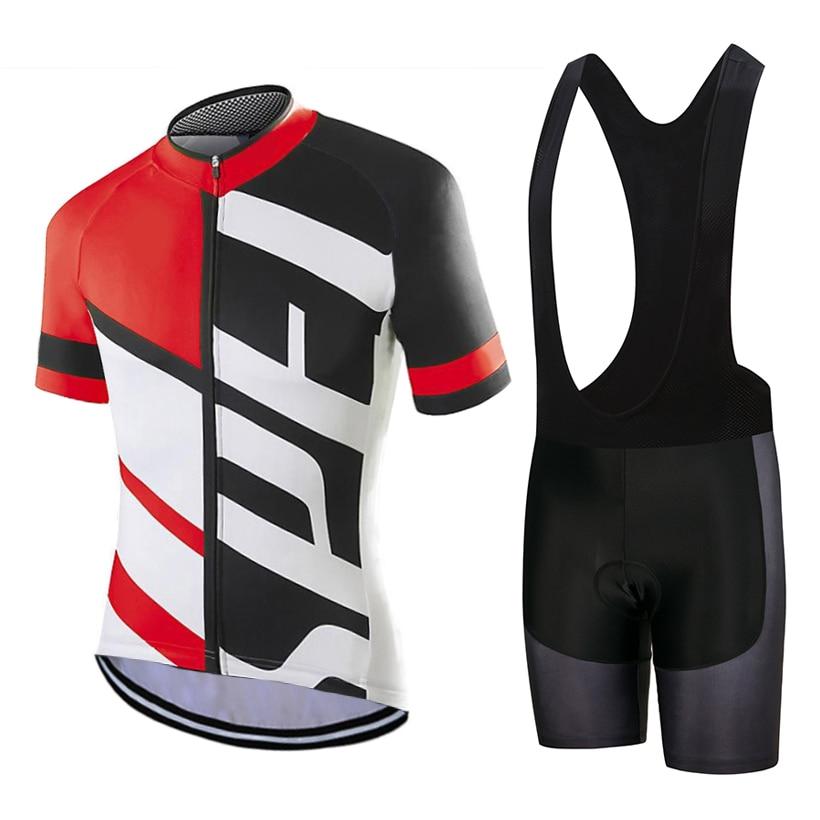 2019 equipo especial Ciclismo jersey 9d gel Pad bicicleta pantalones cortos traje Ropa Ciclismo hombres verano rápido-seco PRO Ciclismo Maillot Culotte