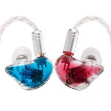 Yinyoo H3 y H5 3BA/5BA Custom Balanced Armature de Alta Fidelidad En La Oreja Los Auriculares Bass Auriculares DJ Auricular Desmontable MMCX Cable