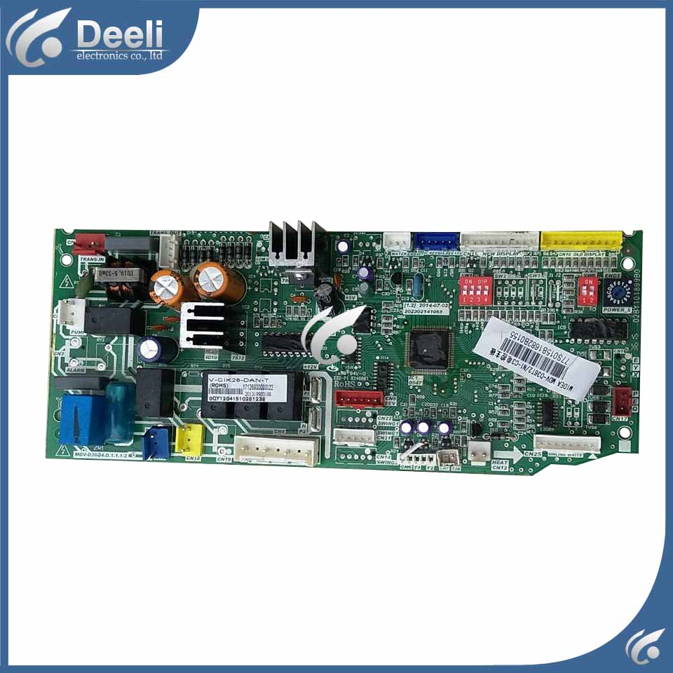95% new for air conditioning Computer board MDV-D36Q4.D.1.1.1-2 MDV-D28T2N1-C3 MDV-D36Q4.D control board used 95% new good working for midea air conditioning computer board mdv d22t2 d 1 4 1 mdv d22t2 board