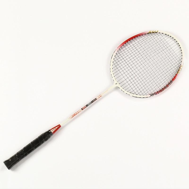 Pour adulte de haute qualité raquette de Badminton Battledore avec sac