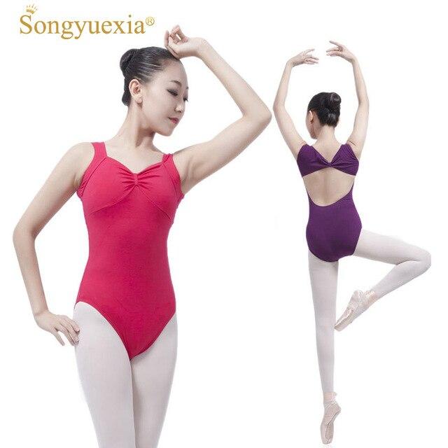 9234366d82ac New Ballet Dance Clothes New Pattern Adult Practice Bodysuit ...