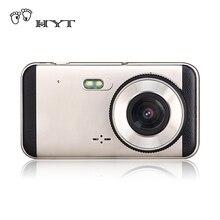 HYT Видеорегистраторы для автомобилей Камера регистратор Двойной объектив Поддержка Ночное видение видео Запись Full HD 1080 P Видеорегистраторы для автомобилей s dashcam H868