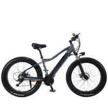 LAUXJACK Fatbike Электрический велосипед алюминиевая рамка 27 скорость механик тормоз 26 «x4.0 колеса