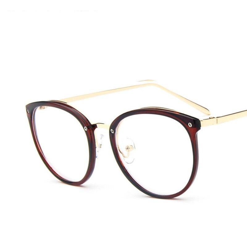 2017 New Women 39 S Fashion Cat Eye Optical Glasses Frame Vintage Women Reading Eyewear Eyeglasses