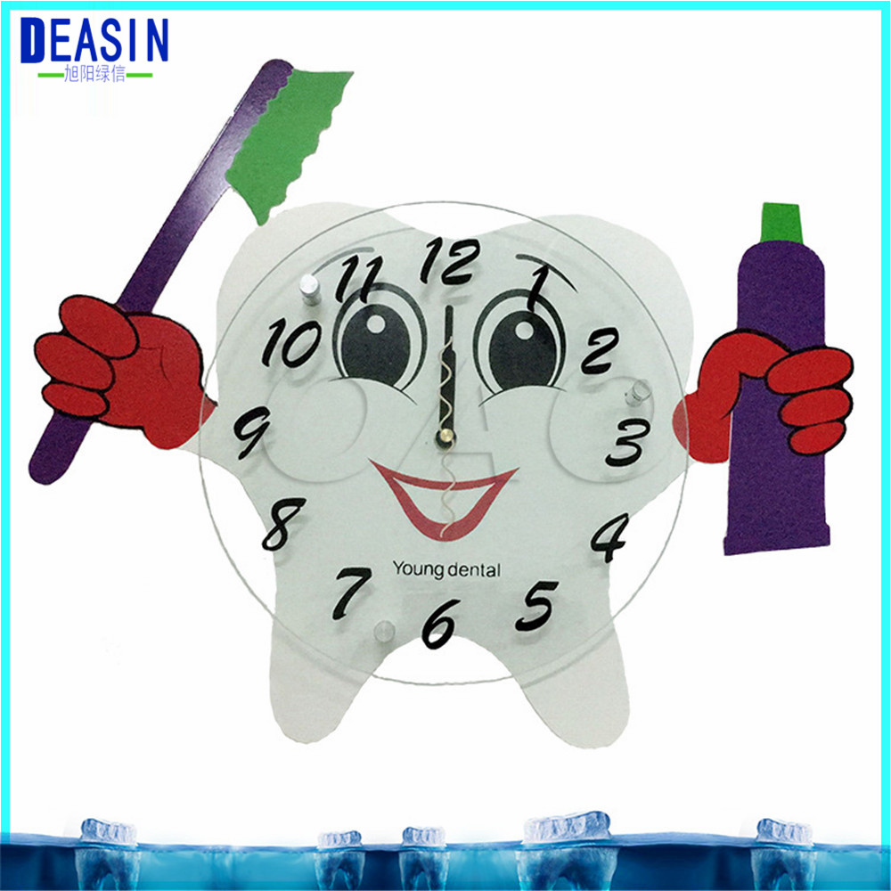 2018 deasin 10 pcs hot sale dental decorations crafts dentist gift dental colock for Clinic dental wall clock dentist gift resin crafts toys dental artware teeth handicraft dental clinic decoration furnishing articles creative sculpture