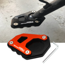 Motorcycle Accessories CNC Kickstand Foot Side Stand Extension Pad Sup