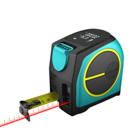 LCD Display Survey Tool Ruler Tape Measure Distance Meter Infrared Portable USB Charging Range Finder Useful Retractable Digital