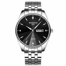 2019 New WLISTH Mens Wear Luxury Brand Sportswear Waterproof Steel Quartz Stone Table  Watches Men