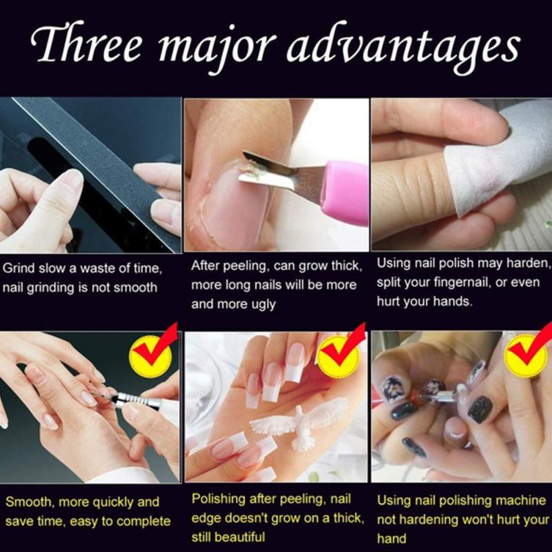Electric Manicure Drill Machine Nail Art File Tools Equipment ...