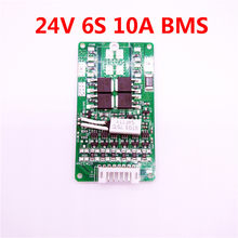 Colaier New Arrival 6S 15A 24V 8ah 10ah 12ah PCB BMS Protection Board For 6 Pack 18650 Li-ion Lithium Battery Cell Module(China)