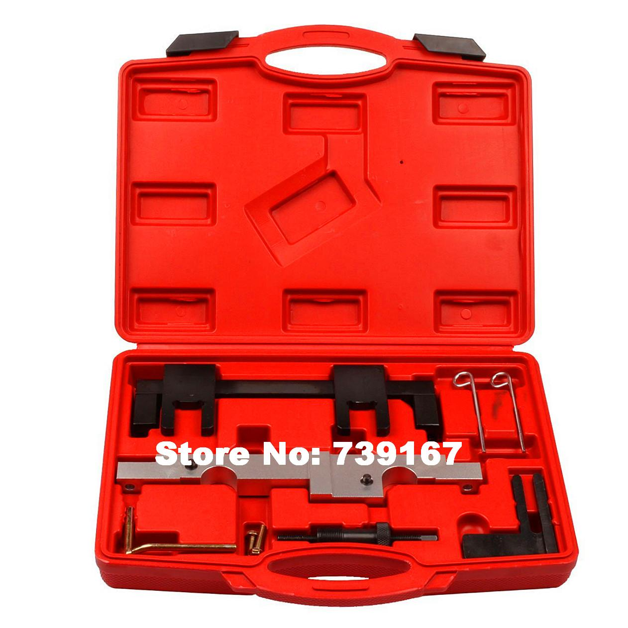 Engine Camshaft Vanos Sensor Locking Alignment Timing Tool Kit For BMW 116/118/120/320/520 N43 1.6/2.0 Chain Drive Series ST0141 цены