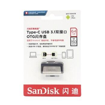 Type-C OTG Pen Drive for XIaomi5 Huawei P9 16GB Pendrive 32GB