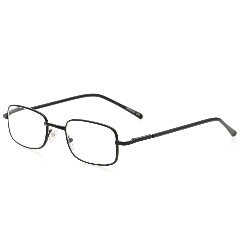 100 400 degree old man reading glasses metal eyeglasses frame rectangle presbyopia hyperopiachina