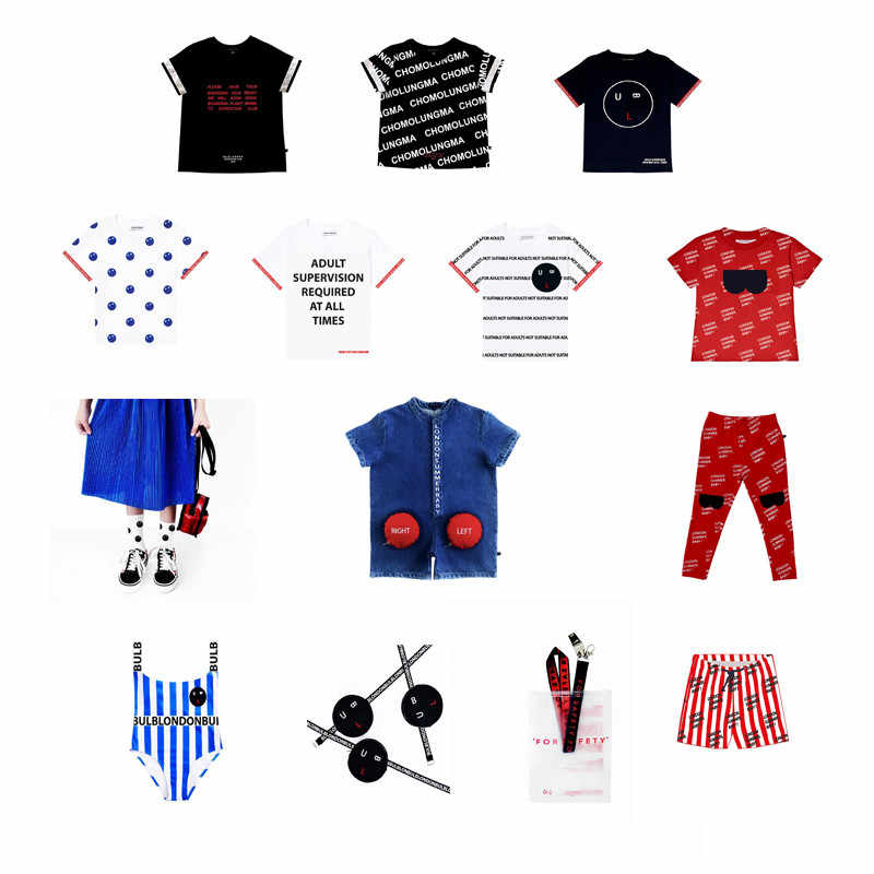 Perfect collection!Toddler Boys T Shirt For Summer Baby Girls Fashion Clothes BULB** Kids Black/White T Shirt Children Tops Tees