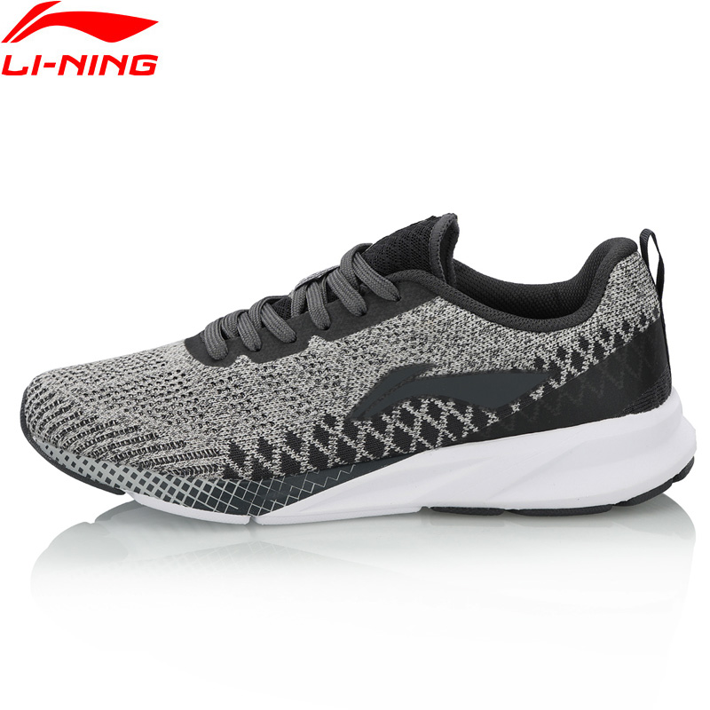 Li Ning Women COLOR ZONE Running Shoes Cushion Mono Yarn Breathable LiNing Comfort Fitness Sports Shoes
