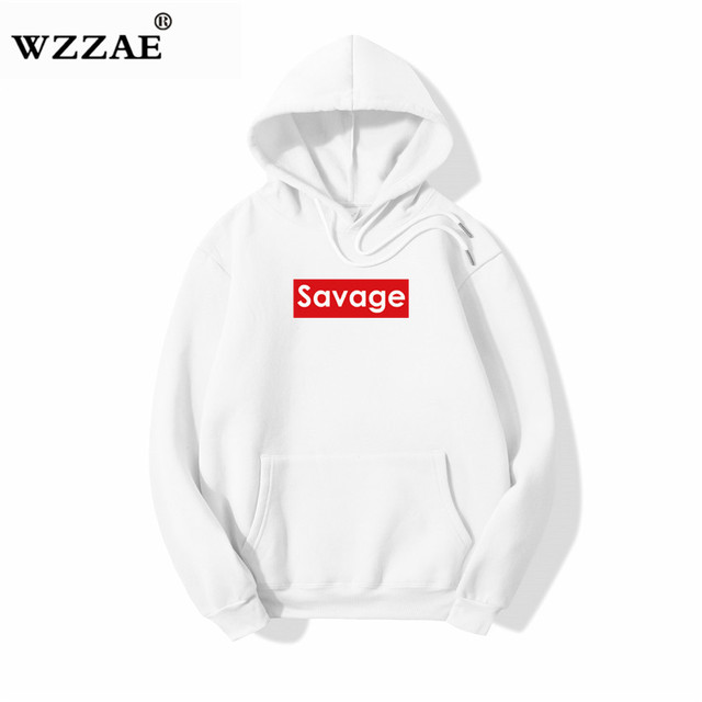 2018 Savage New Design Hoodie Ripped Damage Men Color Fashion Sweatshirts  Brand Original Design Casual Pullover Autumn Hip Hop 132853e750
