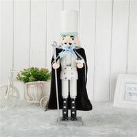 Weihnachten Nussknacker Dekorative Accessoires Silber Kleine Dose Soldat Humanoiden Spielzeug Puppet Spielzeug Kind Weihnachten Geschenk