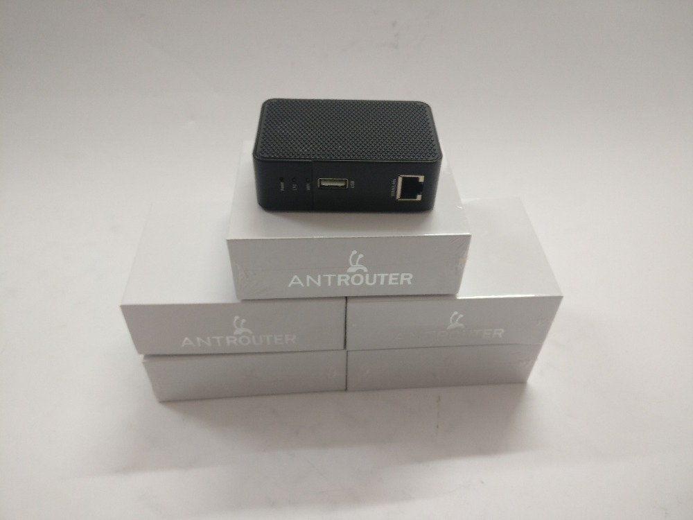 ANT MINER R1 LTC Miner 1.29Mh/s Scrypt Miner Litecoin Mining Machine And 2.4G Wireless Router 150mbPS 150m Wifi