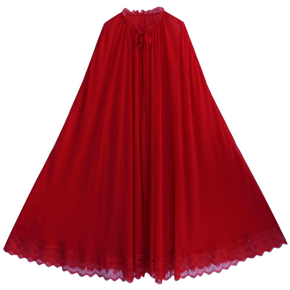 Nouvelle Chemise Mousseline Oversize Irinaw697 Manteau 2018 Longue Arrivée Femmes Vintage Rouge Patchwork Dentelle De D'été Soie 6dpqvYp