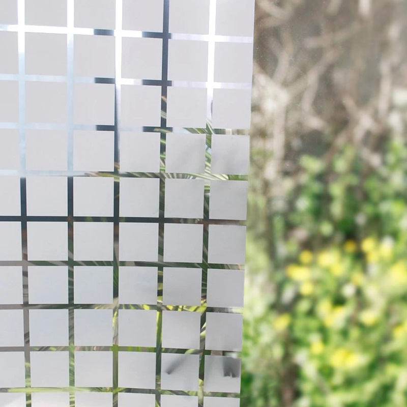 45cm*10m Craquelure Electrostatic Glass Window Film Sticker Home Decoration for bathroom Living Room Kitchen Sticker Wallpaper non adhesive static frosted window film glass film for home and office