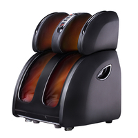 HOT Automatic Pedicure Machine Sole Massager Home Kneading Foot Leg Thai Roller Scraping Carbon Fibre Heating