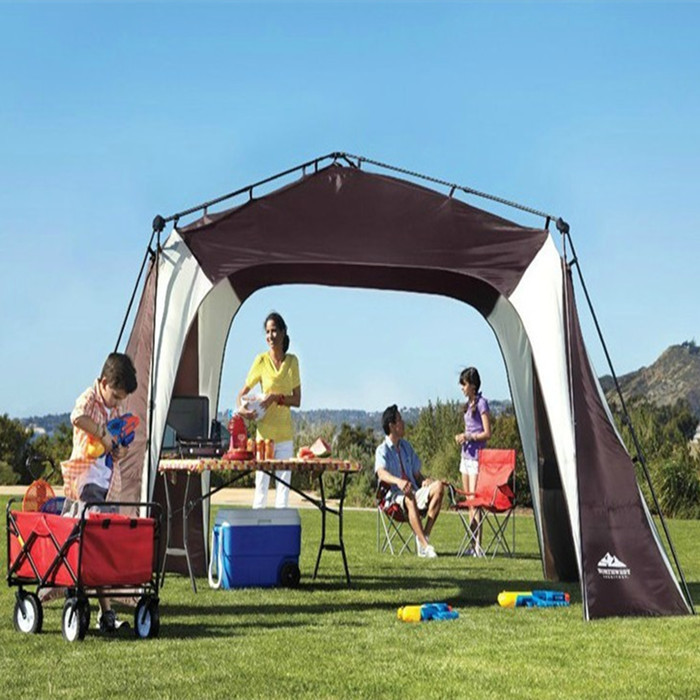 Large Camping Tent Sun Beach Awnings For Outdoor Canopy Gazebo Shade Family Free Shipping In Tents From Sports Entertainment On