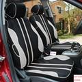 Cubierta de asiento de coche especial juego Para Nissan Qashqai Nota Almera Murano Teana Tiida Marzo x-trai NEGRO/GRIS/accesorios coche ROJO
