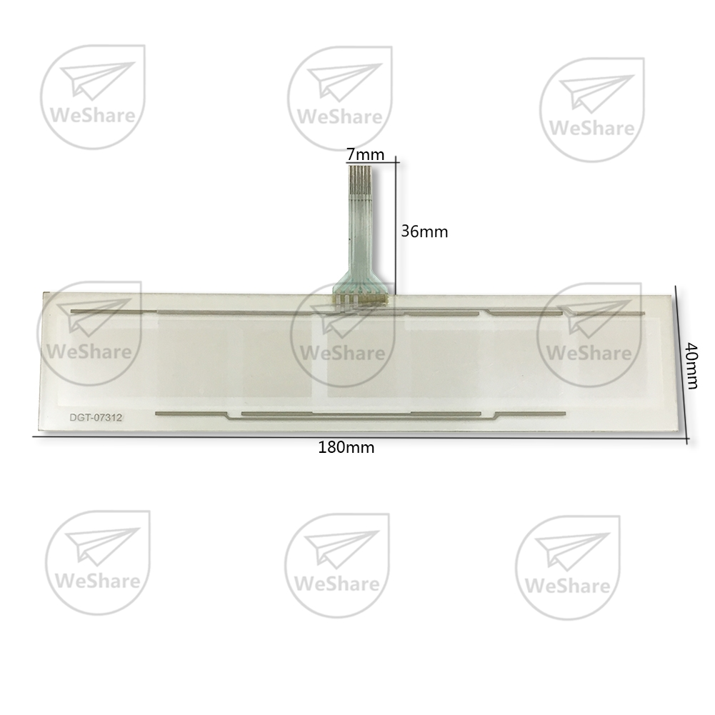 ФОТО Brand New 6 Wire Touch Screen 180x40mm Digitizer Glass Panel Replacement Free Shipping