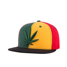 WUKE 2018 PRINC RICESS estilo caliente hoja de cáñamo bordado Snapback  sombrero gorra de béisbol sombrero plano Hip Hop gorras p. 373085a4f3d