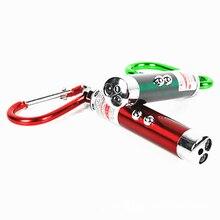 Высокое качество 3 в 1 красная лазерная ручка 1МВ 49 футов лазерный прицел Мини светодиодный фонарик луч световая указка для обучения работе