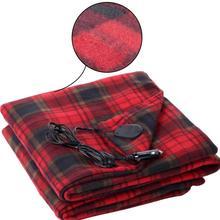 цены на Hot Sale Car Electric Blanket 12V Car Heating Blanket Energy-saving High Quality Warm Electric Blanket  в интернет-магазинах
